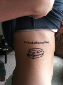 Book Tattoos for Girls