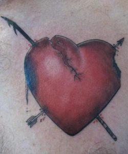 Broken Heart Tattoo Designs