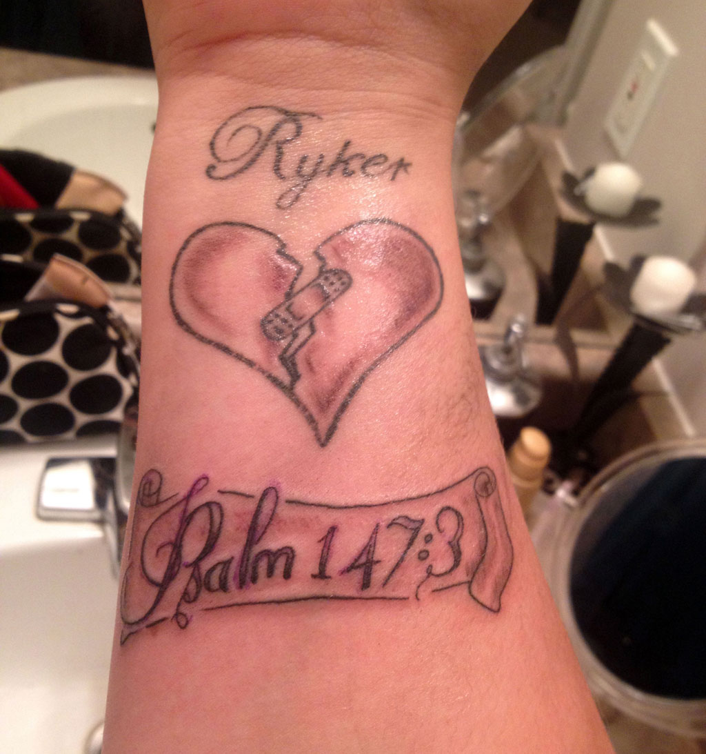 Broken Heart Tattoos Designs, Ideas And Meaning