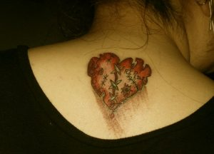 Broken Hearts Tattoo