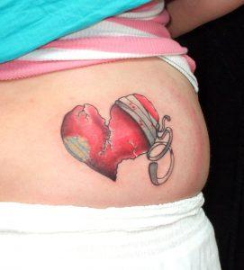 Broken Hearts Tattoos