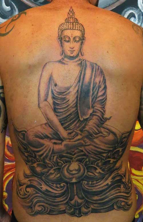 Buddha tattoos designs ideas and meaning tattoos for you for Can buddhists have tattoos