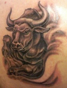 Bull Tattoos Designs