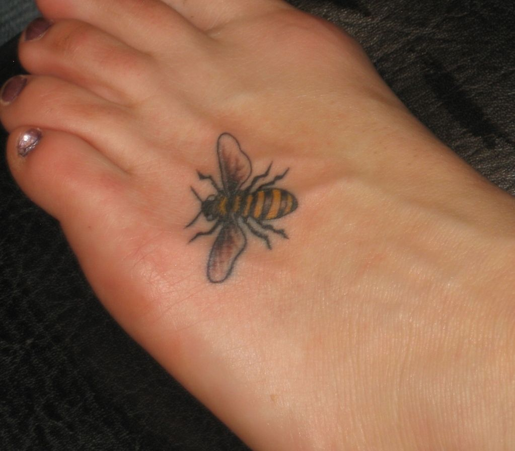 Ladybug Tattoos Designs Ideas And Meaning: Bumble Bee Tattoos Designs, Ideas And Meaning