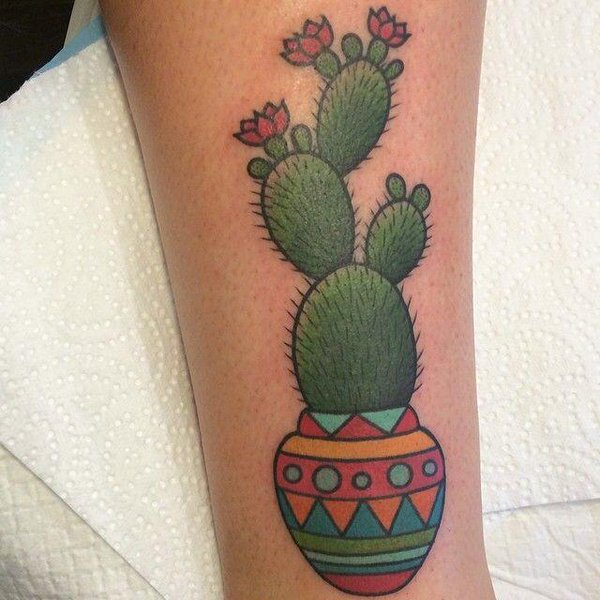 Cactus Tattoos Designs Ideas And Meaning Tattoos For You