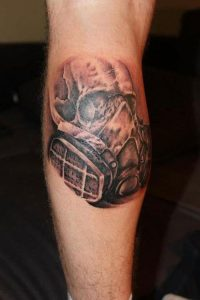 Calf Tattoos Guys