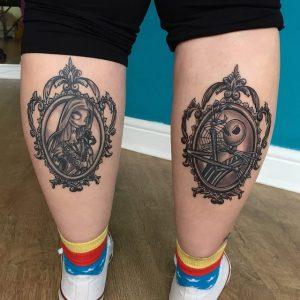 Calf Tattoos Women