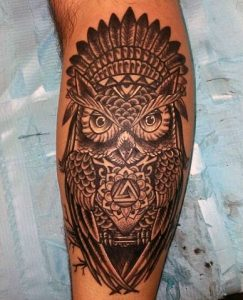 Calf Tattoos for Men