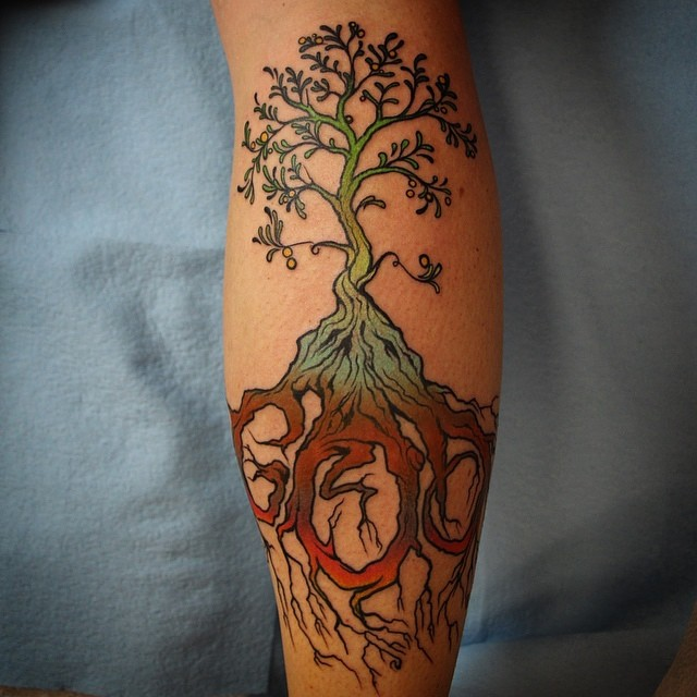 Calf Tattoos Designs, Ideas And Meaning