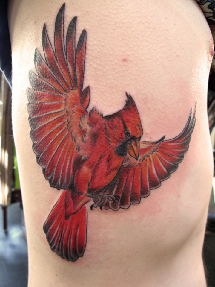 Cardinal Tattoos Designs, Ideas and Meaning | Tattoos For You