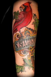 Cardinal Tattoo Sleeves