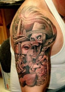 Chicano Arm Tattoos