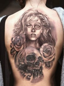 Chicano Tattoos for Girls
