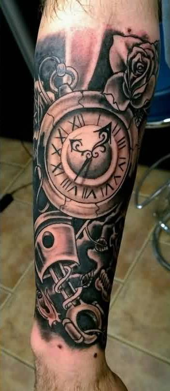 31ae4b2a9 Clock Tattoos Designs, Ideas and Meaning | Tattoos For You