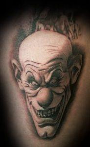 Clown Faces Tattoos