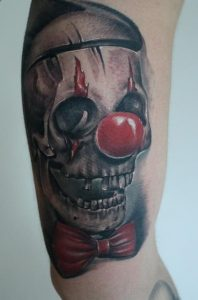 Clown Skull Tattoos