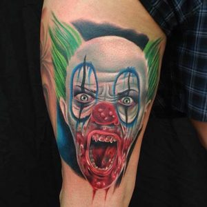 Clown Tattoos Images