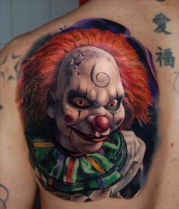 Clown Tattoos Pictures