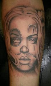 Clown Tattoos for Girls