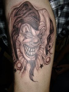 Clown Tattoos for Men