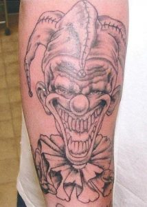 Crazy Clown Tattoos