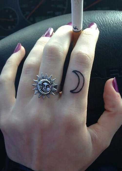 Crescent Moon Tattoos Designs Ideas And Meaning Tattoos