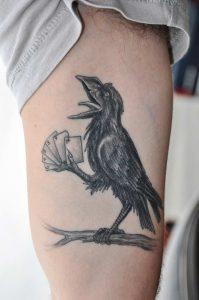 Crow Tattoos for Men