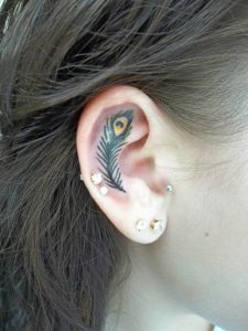 Cute Ear Tattoos