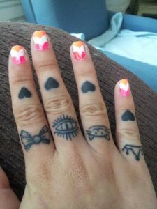 Cute Knuckle Tattoos