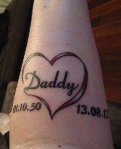 Dad Tattoos