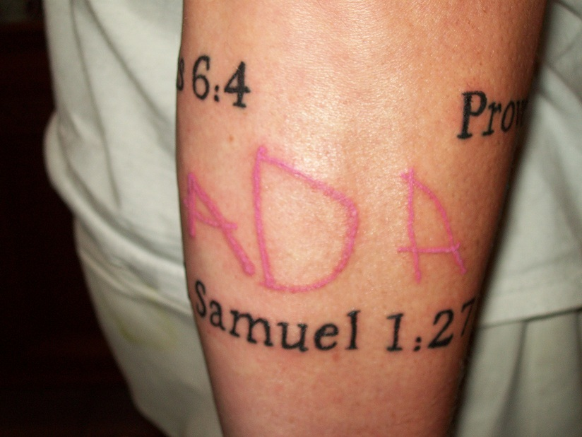 Tattoos with meaning for your kids - photo#23