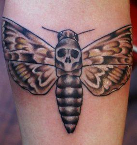 Death Moth Tattoos