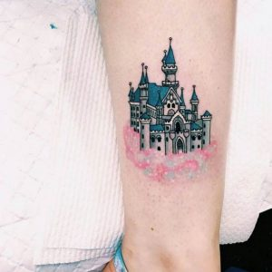 Disney Castle Tattoo