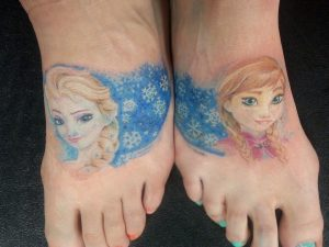 Disney Foot Tattoos