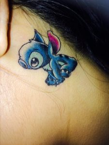 Disney Stitch Tattoo