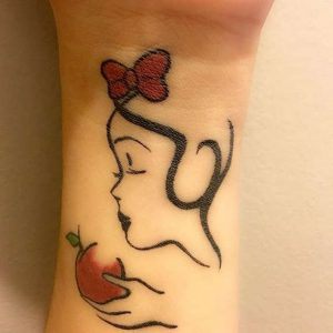 Disney Wrist Tattoos