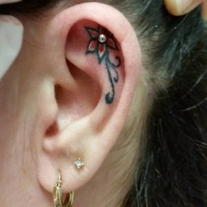 Ear Tattoos Images