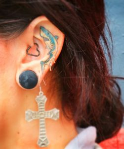Ear Tattoos Pictures