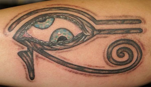 Egyptian Evil Eye Tattoo Designs
