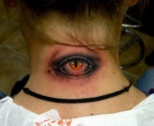 Evil Eye Tattoo Images