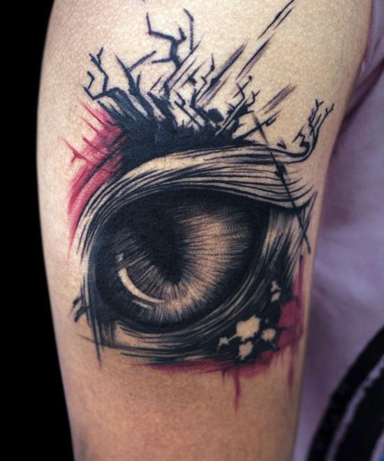 Crying Eye Tattoo Designs