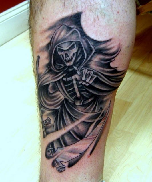 grim reaper tattoos designs ideas and meaning tattoos for you. Black Bedroom Furniture Sets. Home Design Ideas