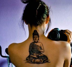 Female Buddha Tattoo