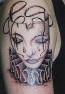 Female Clown Tattoos