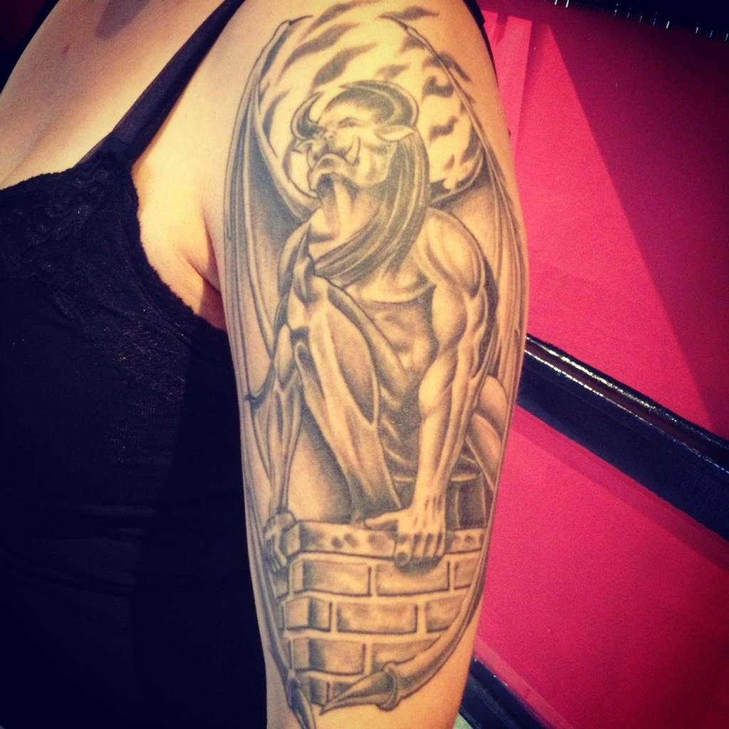 Transformers Tattoos Designs Ideas And Meaning: Gargoyle Tattoos Designs, Ideas And Meaning