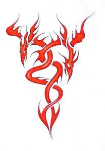 Fire Tattoos Designs