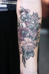 Floral Arm Tattoos