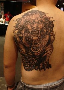 Foo Dog Tattoo Pictures