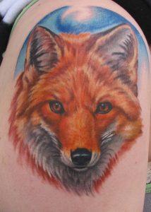 Fox Head Tattoos