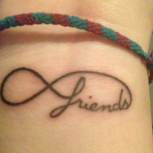 Friends Infinity Tattoo